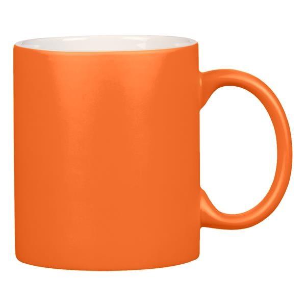 11 oz. Neon Mug with C-Handle