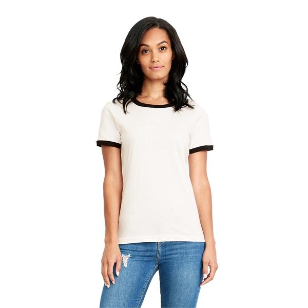 Next Level Apparel Ladies' Ringer T-Shirt