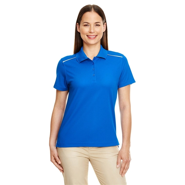 Ash City Ladies' Radiant Performance Pique Polo with Refl...
