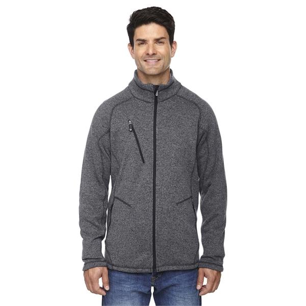 Ash City Men's Peak Sweater Fleece Jacket