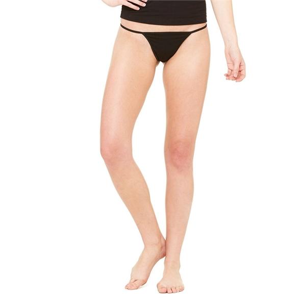 Canvas Ladies/' CottonSpandex Thong Bikini 5707 Ladies Small Bella