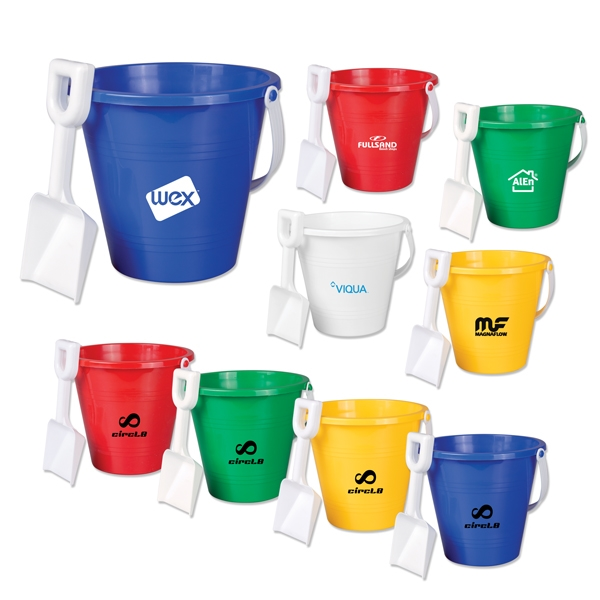 "6"" Pails with Shovel"