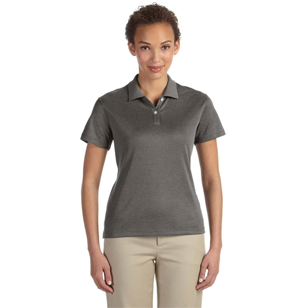 Devon & Jones Ladies' Pima-Tech™ Jet Pique Heather Polo