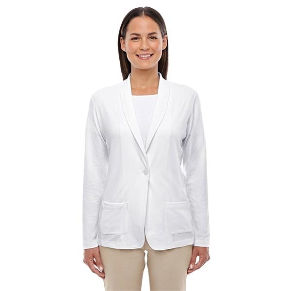 Devon & Jones Ladies' Perfect Fit™ Shawl Collar Cardigan