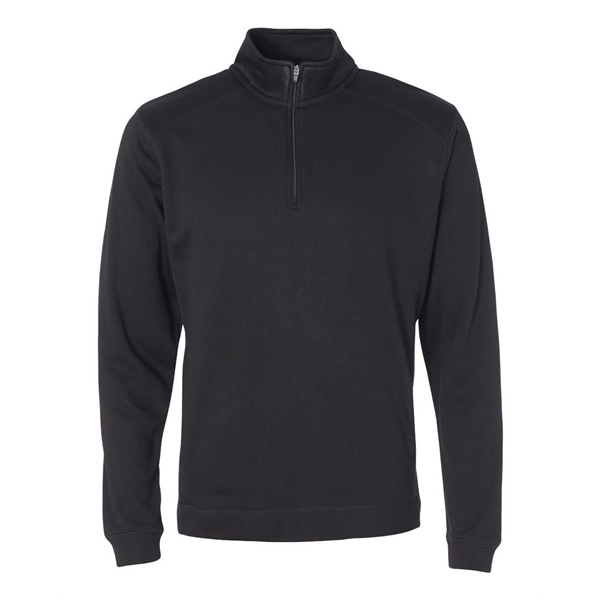 J America Adult Cosmic Poly Fleece Quarter-Zip