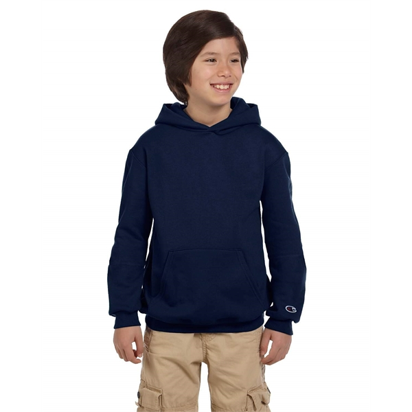 Champion Youth Double Dry Eco® Pullover Hooded Sweatshirt