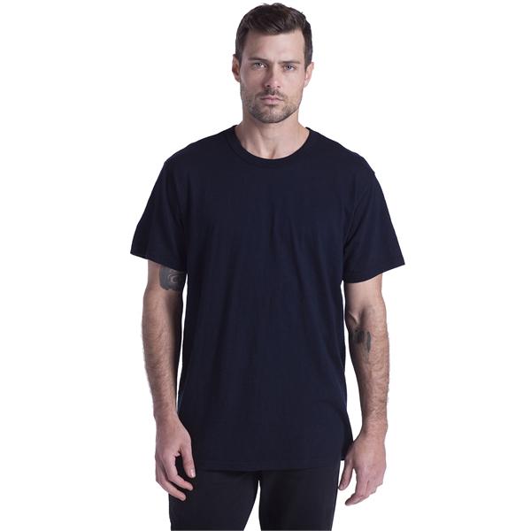 US Blanks Men's Short-Sleeve Slub Crewneck T-Shirt Garmen...