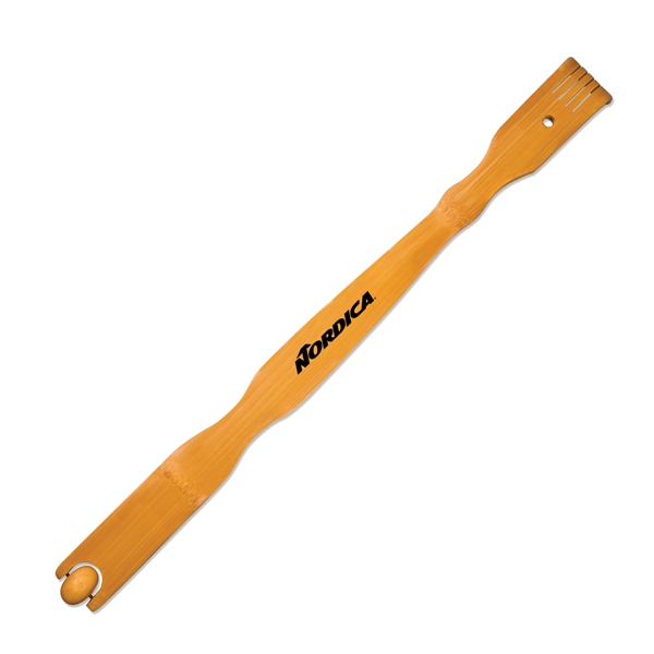 Wood Backscratcher with Roller