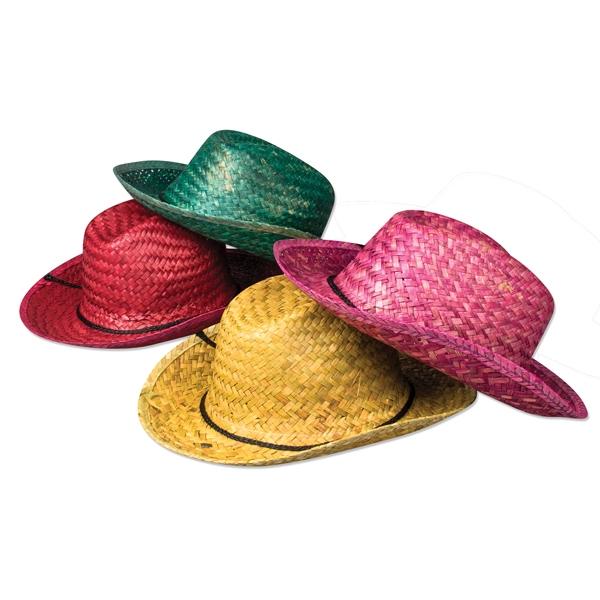 Neon Straw Cowboy Hats