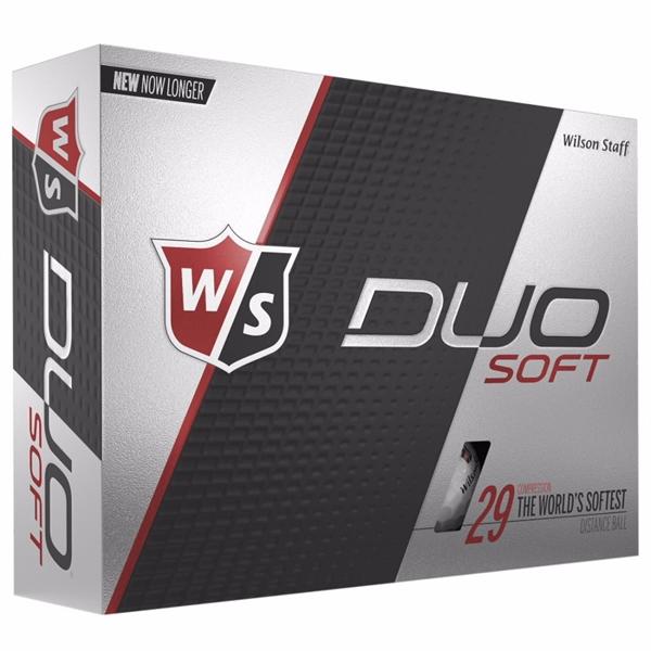 Wilson® Duo® Soft Golf Balls Std Serv