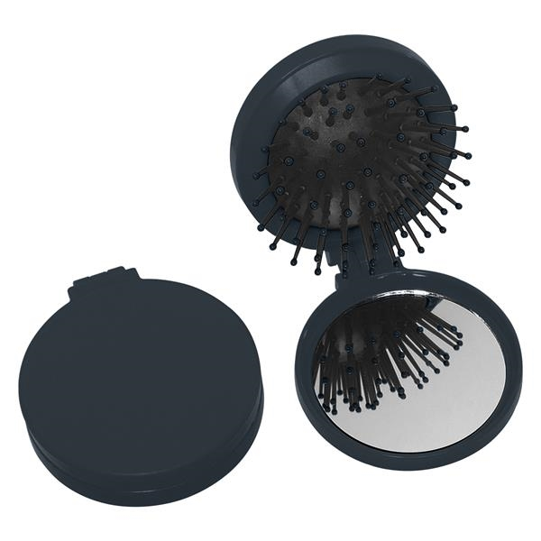 Brush And Mirror Compact