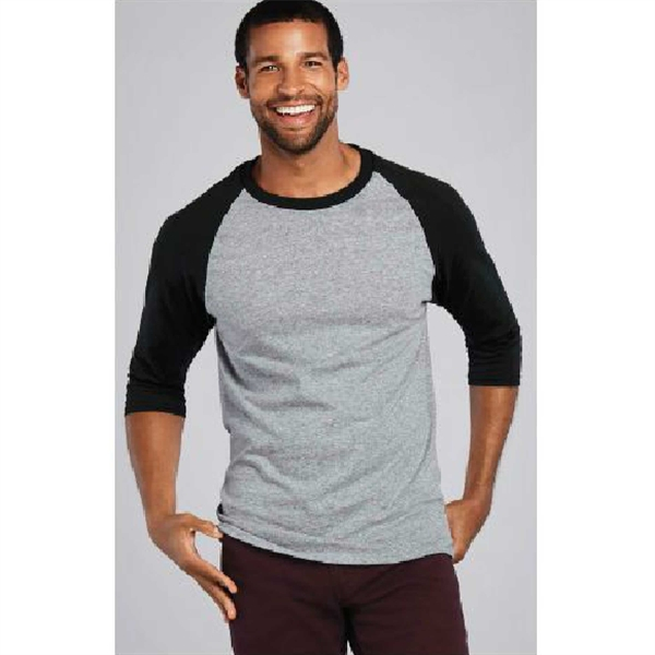 Gildan Heavy Cotton™ Youth 3/4 Sleeve Raglan T-Shirt