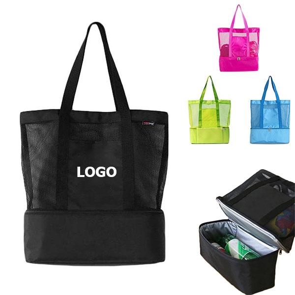 Portable Shoulder Bag Double Deck Cooler