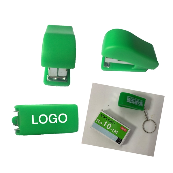 Mini stapler keychain