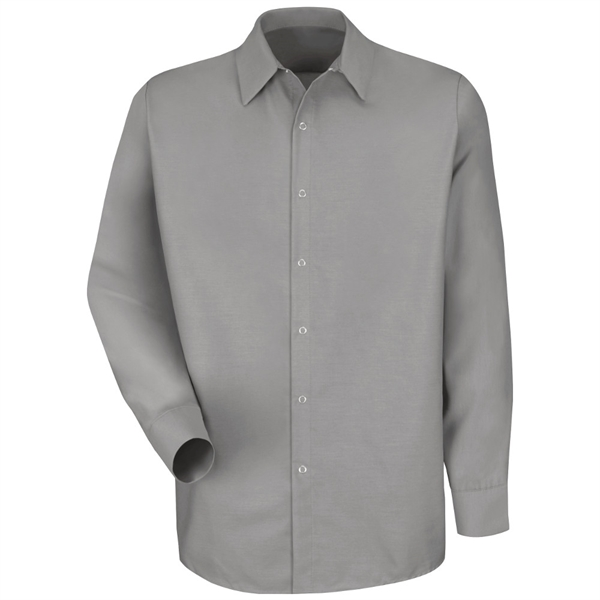 Red Kap® Men's Specialized Pocketless Long Sleeve Work Shirt
