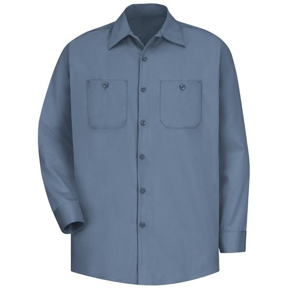 Red Kap® Men's Wrinkle-Resistant Cotton Work Shirt