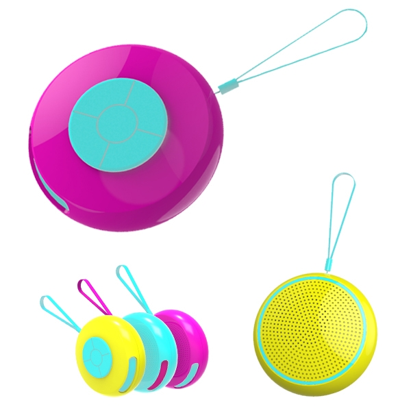 Round Waterproof Speaker