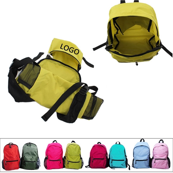Collapsible Nylon Backpack