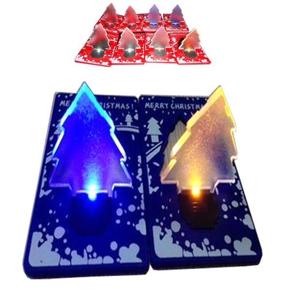 Christmas Tree Shaped Pocket Light