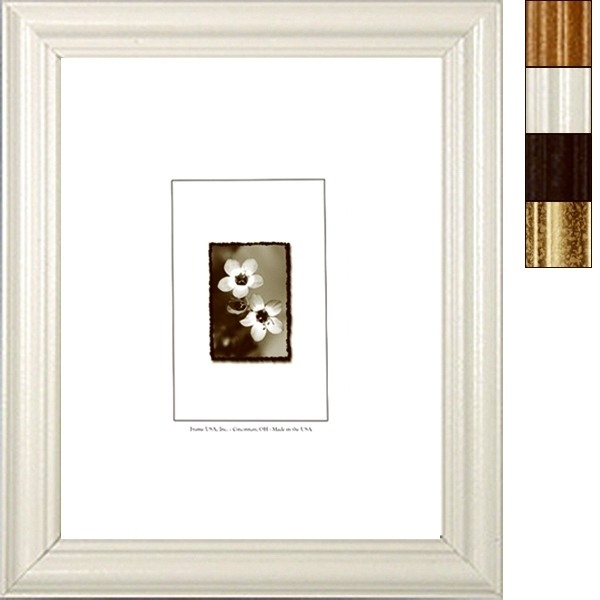 Value-Added Series, Wood Frame, White