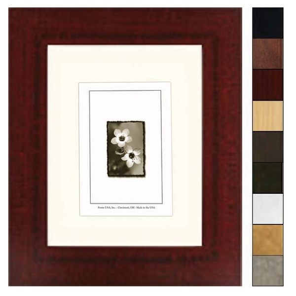 Corporate Wide Series - Frame, Red Mahogany