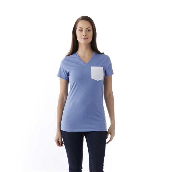 MONROE  Short Sleeve Pocket  Women's Tee