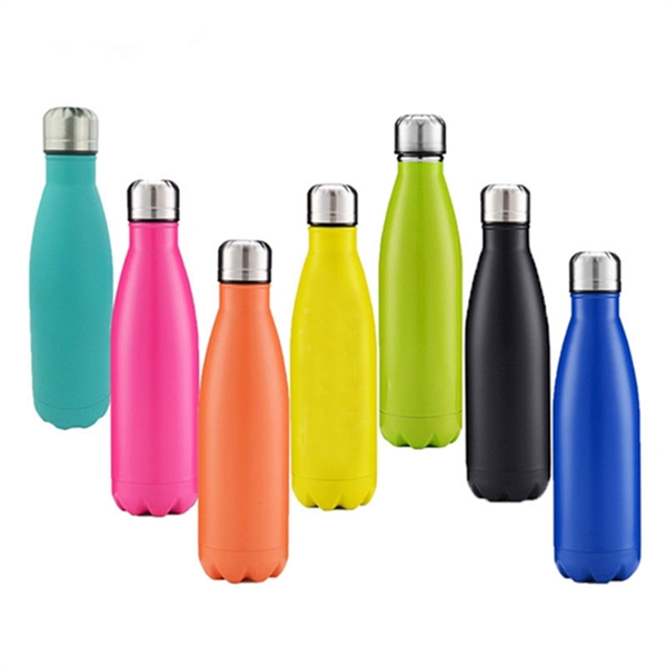 17oz Double Vacuum Stainless Steel Water Bottle
