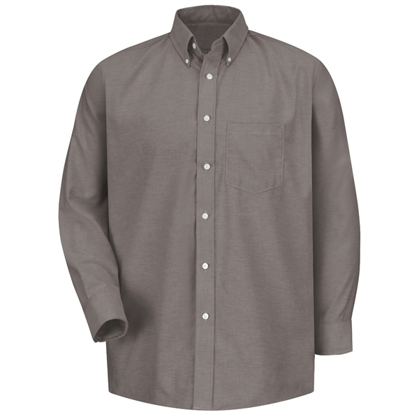 Long Sleeve Executive Oxford Dress Shirt