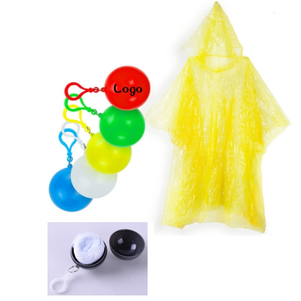 Disposable Emergency Raincoats