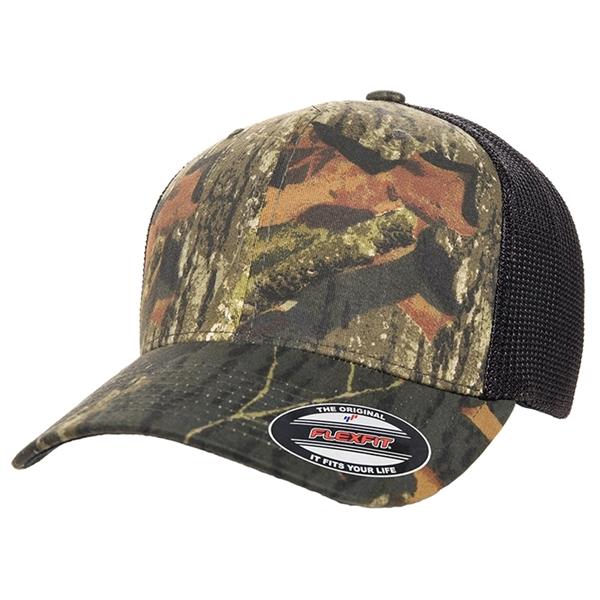 FLEXFIT® Mossy Oak® Trucker Cap