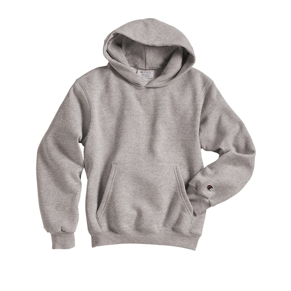 Champion Double Dry Eco® Youth Hooded Sweatshirt