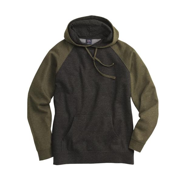 Independent Trading Co. Raglan Hooded Sweatshirt