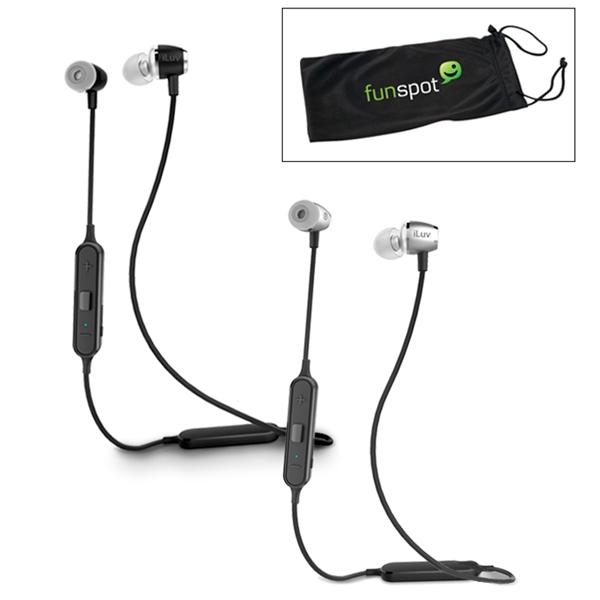 iLuv® Sweatproof Bluetooth® Earbuds