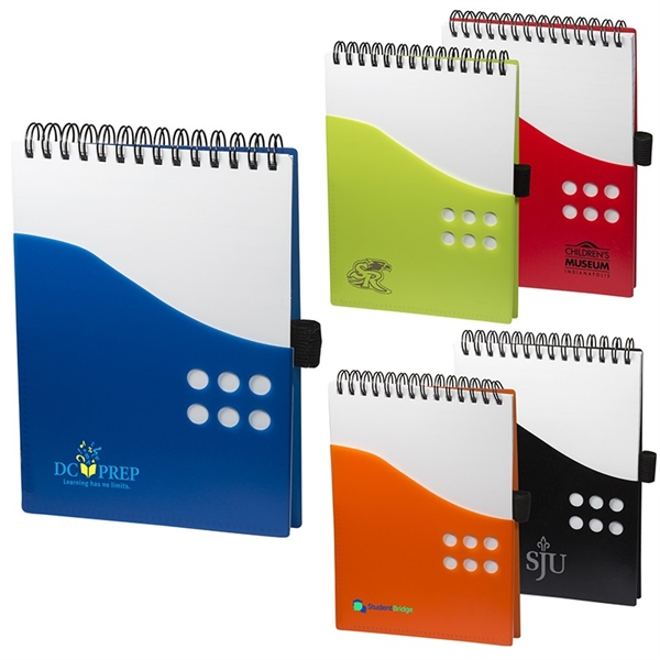 PP Two Tone Dot Jotter