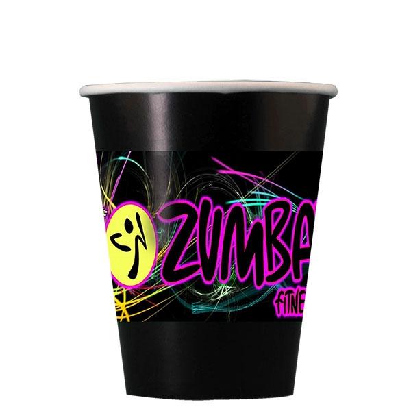 Digital 9 oz. Colored Paper Cup