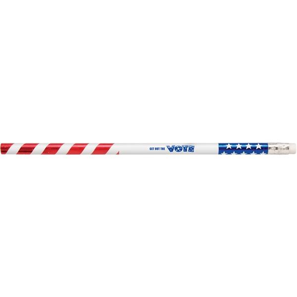 Patriotic Foiled Foreman Pencil