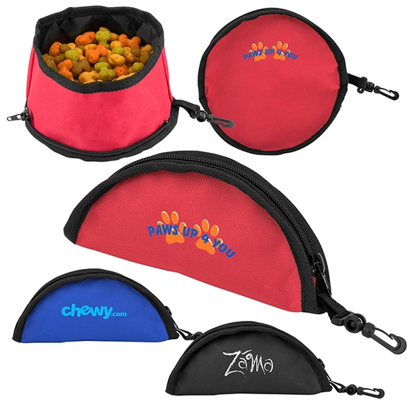 Food-to-Go Travel Pet Bowl