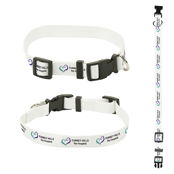 """3/4"""" Sublimated Pet Collar"""