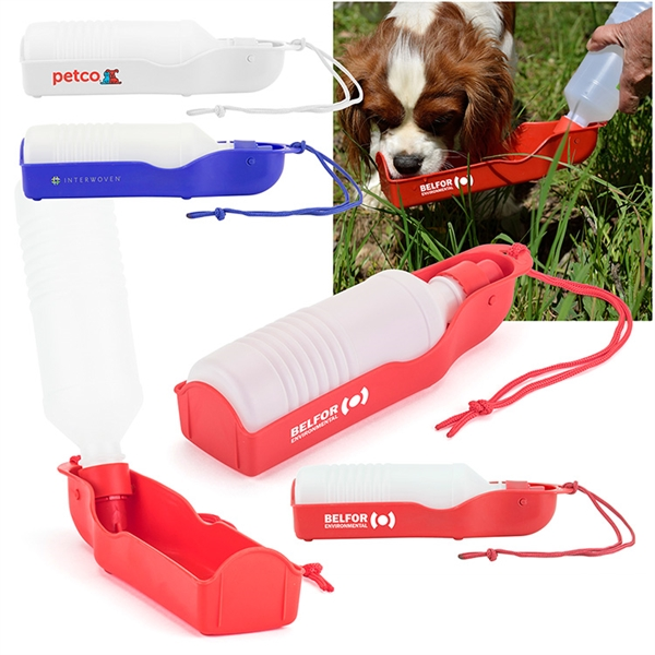 Squeeze and Serve Pet Water Bottle