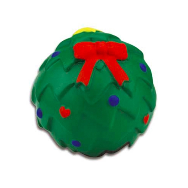 X'mas Gift Strss Ball,Christmas Tree PU Ball