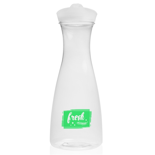 34 oz. Clear Plastic Carafes with Lid
