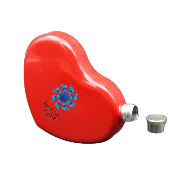 4.4OZ Heart Shaped Beer Hip Flask