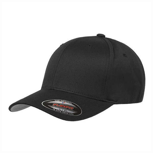 Flexfit® Adult Wooly 6 Panel Cap (Structured Fitted)