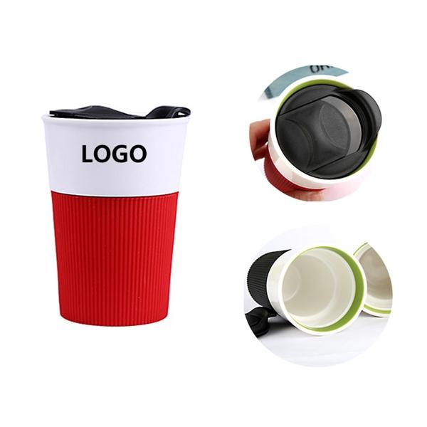 Ceramic Mug With Silicone Sleeve