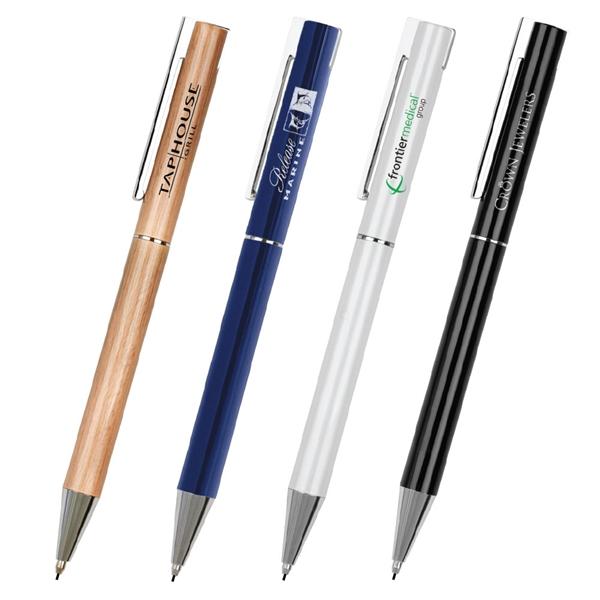 Iris Brass Spring-Loaded Clip Mechanical Pencil