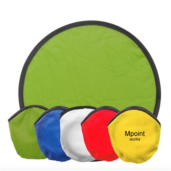 Folding flying disc With Small Pouch