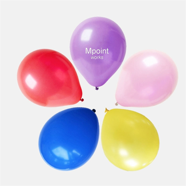 Assorted Color Party Balloons