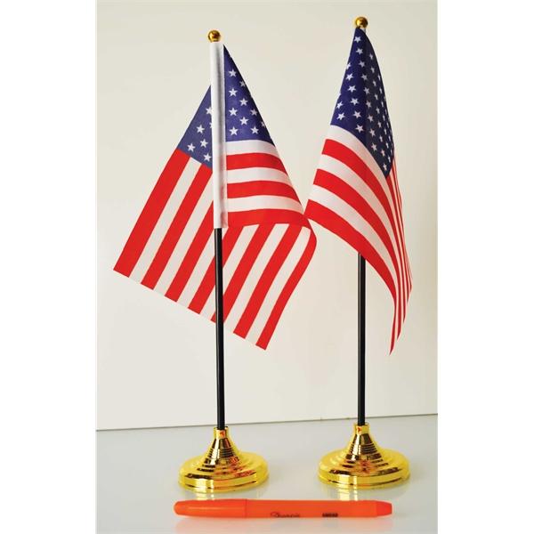 Economic Table Flags. Single Reverse Kit