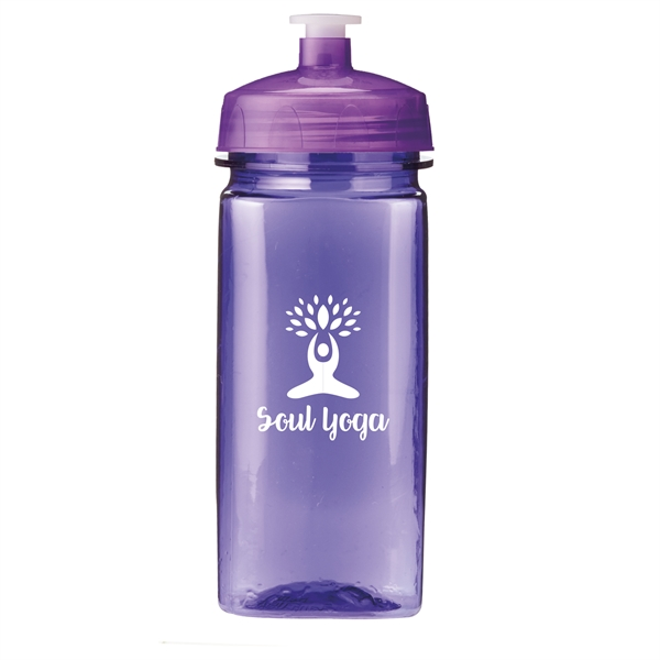 16 Oz PolySure™ Squared-Up Bottle