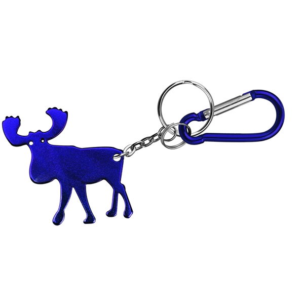 Elk Shape Bottle Opener Key Chain